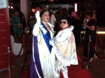 Fancy dress winners The Queen and Elvis